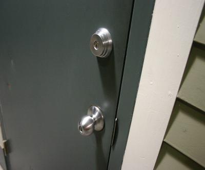 Two door lock